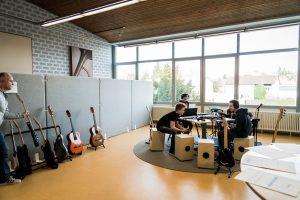 """Das """"Groove Lab"""" wäre ohne Förderverein nicht möglich gewesen."""